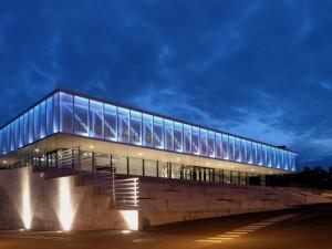 Bellahøj svømmestadion. Fotograf Jens Larsen