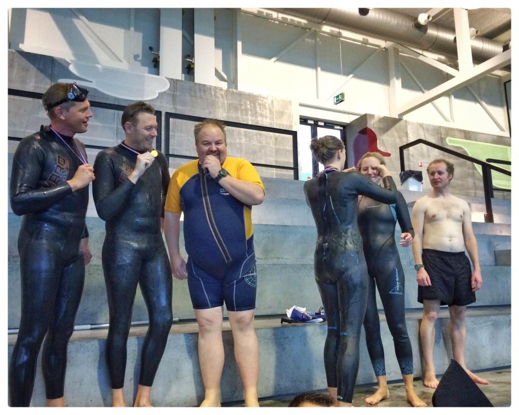 vinderholdet alternative klubmesterskaber bellahøj kfk københavns fridykkerklub undervandsfoto fridykning