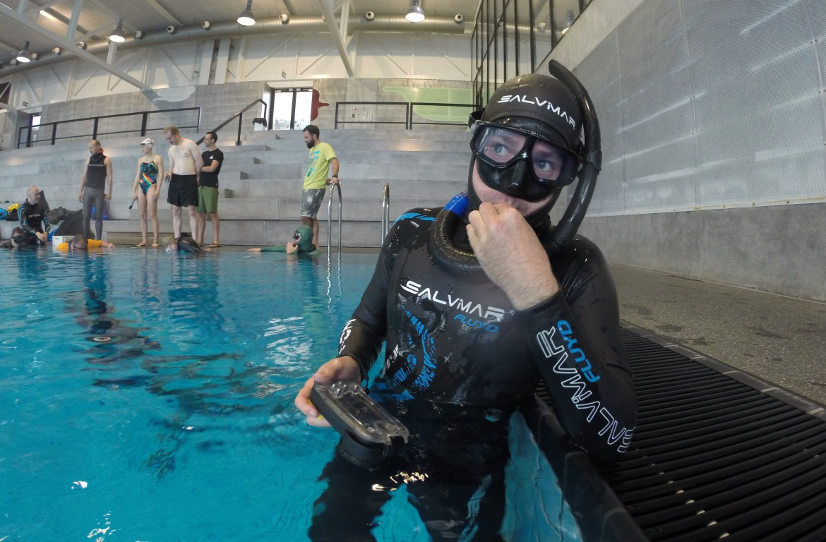 Salvimar fluyd be one freediver wetsuit freediving